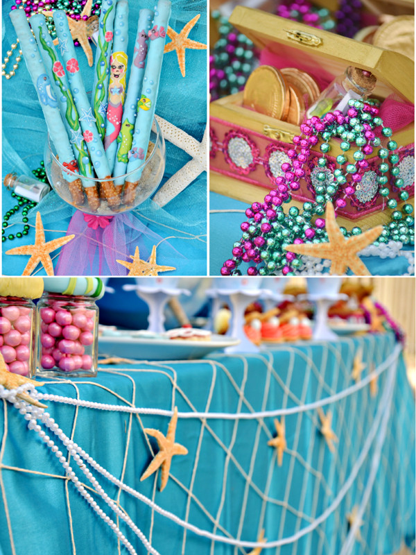 Under The Sea Birthday Decorations  Under The Sea Mermaid Birthday Party Party Ideas