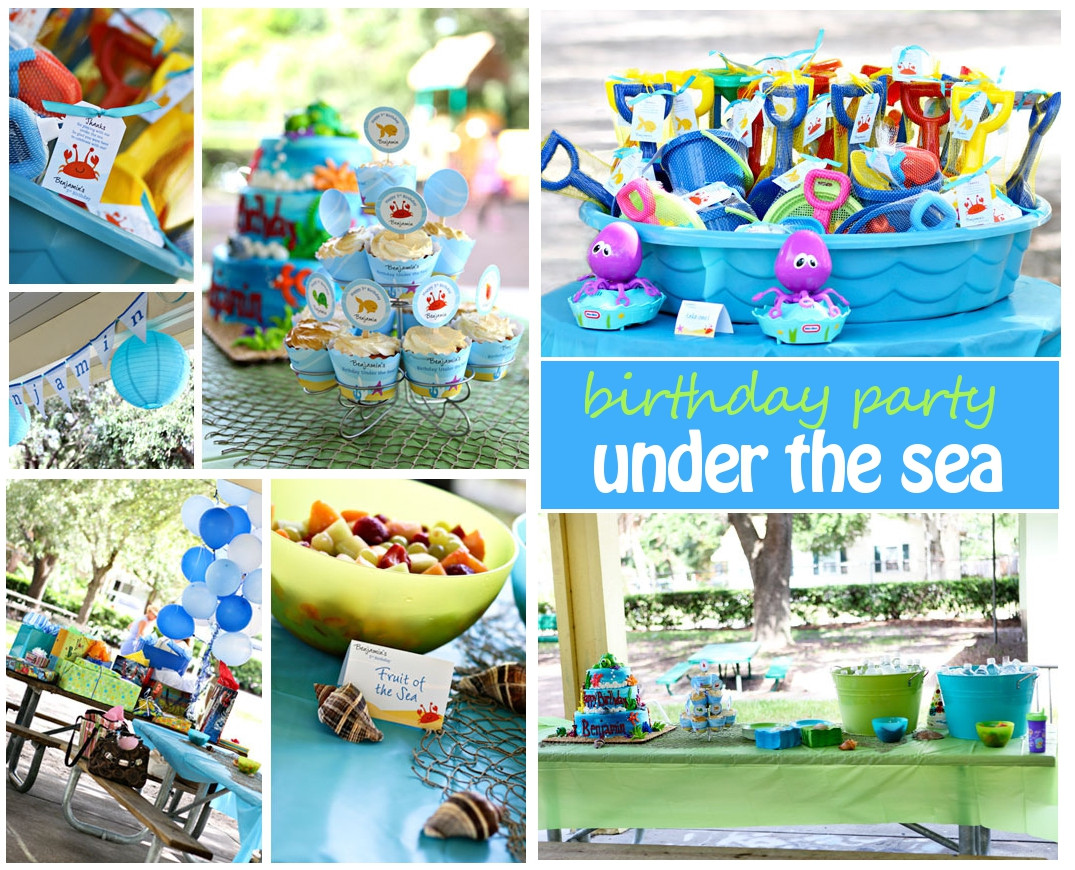 Under The Sea Birthday Decorations  Under the Sea Birthday Party
