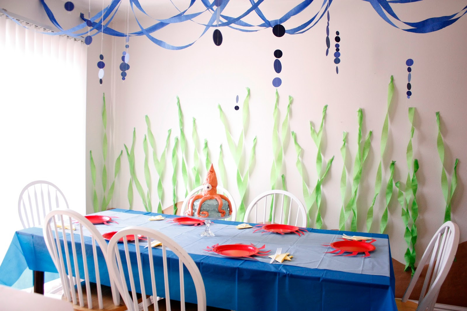 Under The Sea Birthday Decorations  Under the Sea Birthday Party – Part Two