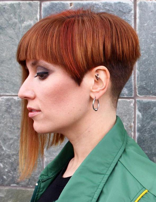 Undercut Hairstyle Women  40 Women's Undercut Hairstyles to Make a Real Statement