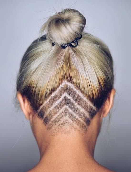 Undercut Hairstyle Women  45 Undercut Hairstyles with Hair Tattoos for Women