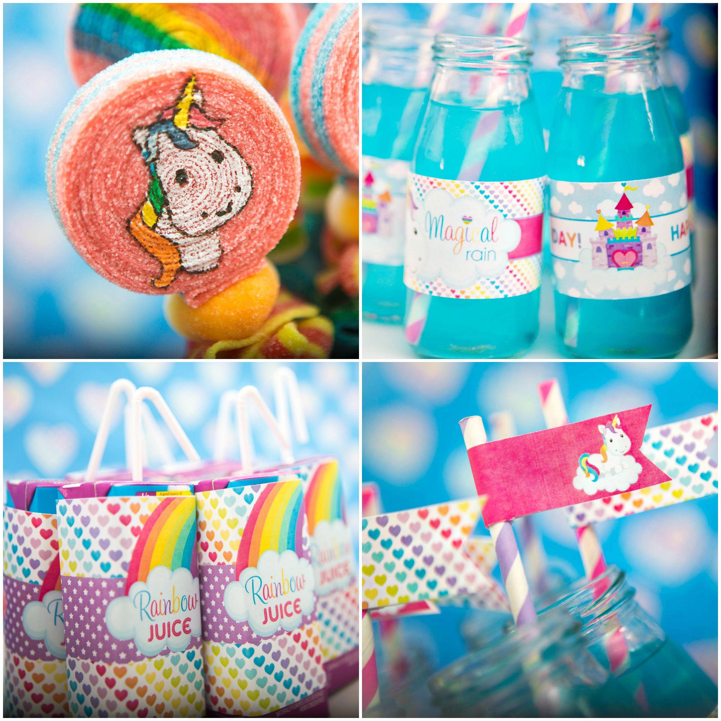 Unicorn And Rainbow Birthday Party Ideas  Rainbow Unicorn Theme