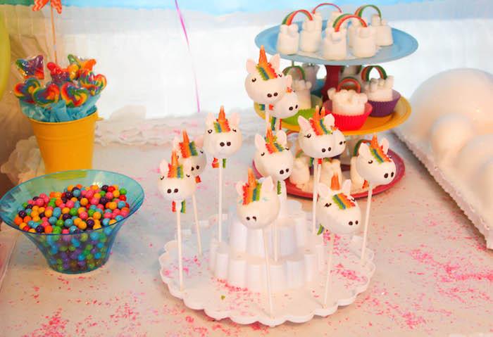 Unicorn And Rainbow Birthday Party Ideas  Kara s Party Ideas Rainbow Unicorn Birthday Party