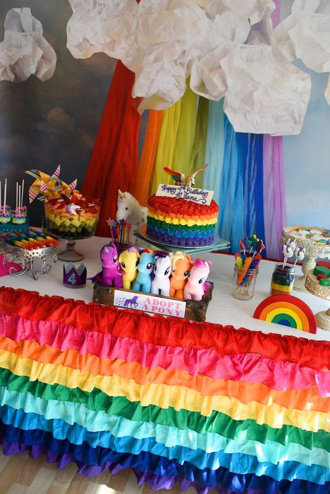 Unicorn And Rainbow Birthday Party Ideas  Rainbows and Unicorns Birthday Party Ideas