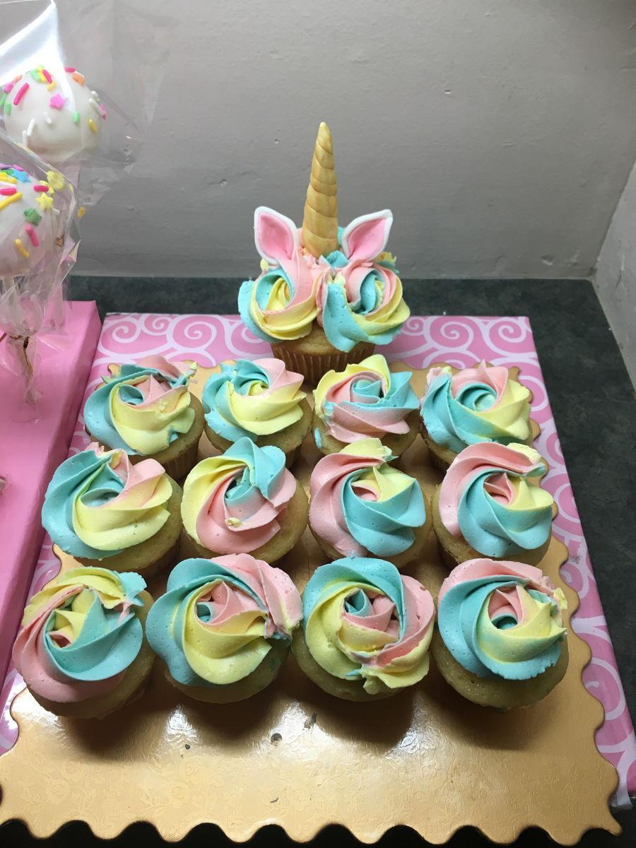 Unicorn And Rainbow Birthday Party Ideas  Magical Rainbow Unicorn Party Theme CakeCentral