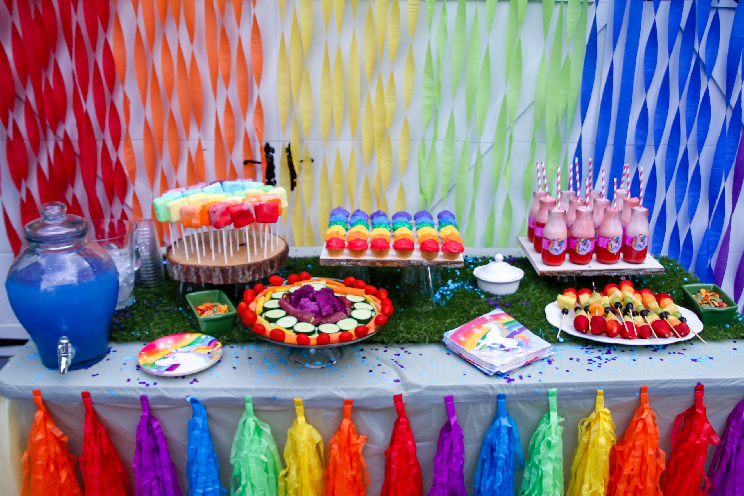 Unicorn And Rainbow Birthday Party Ideas  Throw the ultimate unicorn rainbow unicorn party for a