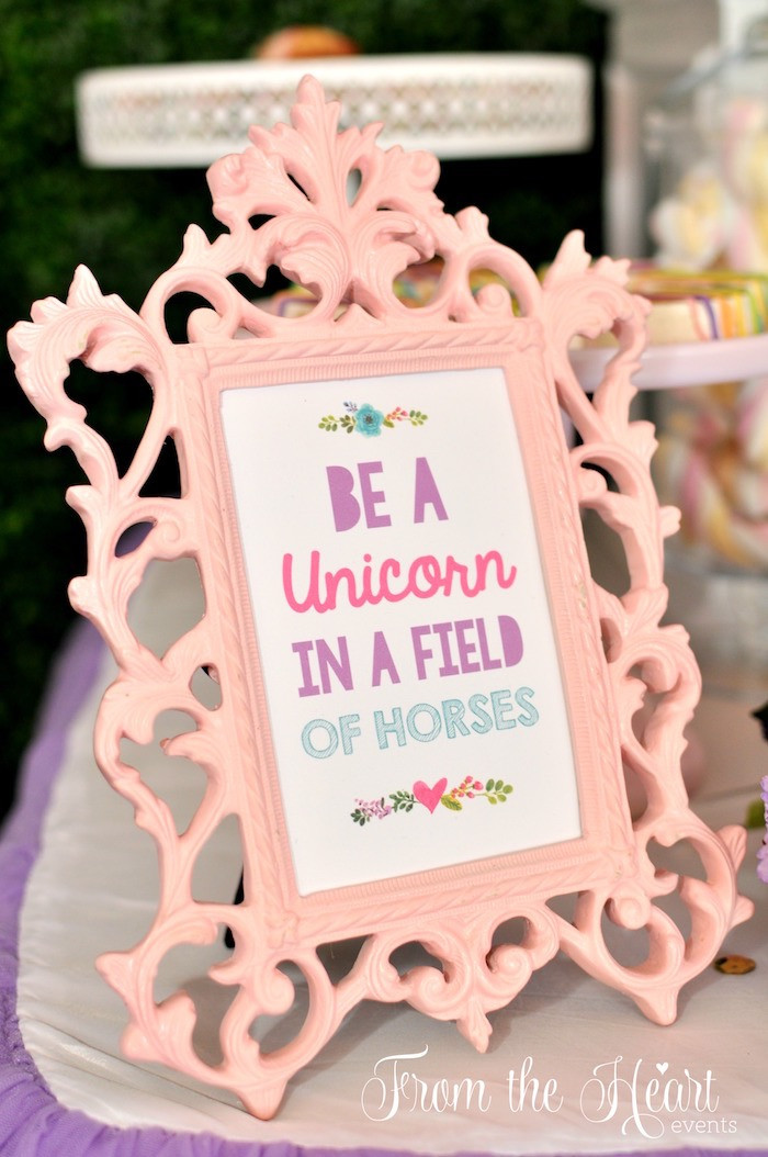 Unicorn And Rainbow Birthday Party Ideas  Kara s Party Ideas Vibrant Unicorn Birthday Party
