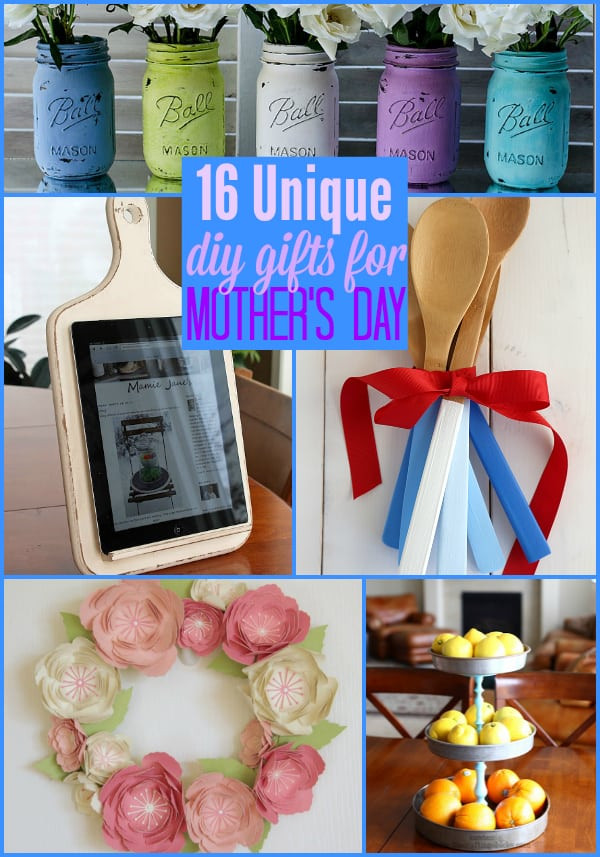 Unique DIY Gifts  16 Unique DIY Gifts for Mother s Day The Weekly Round UP