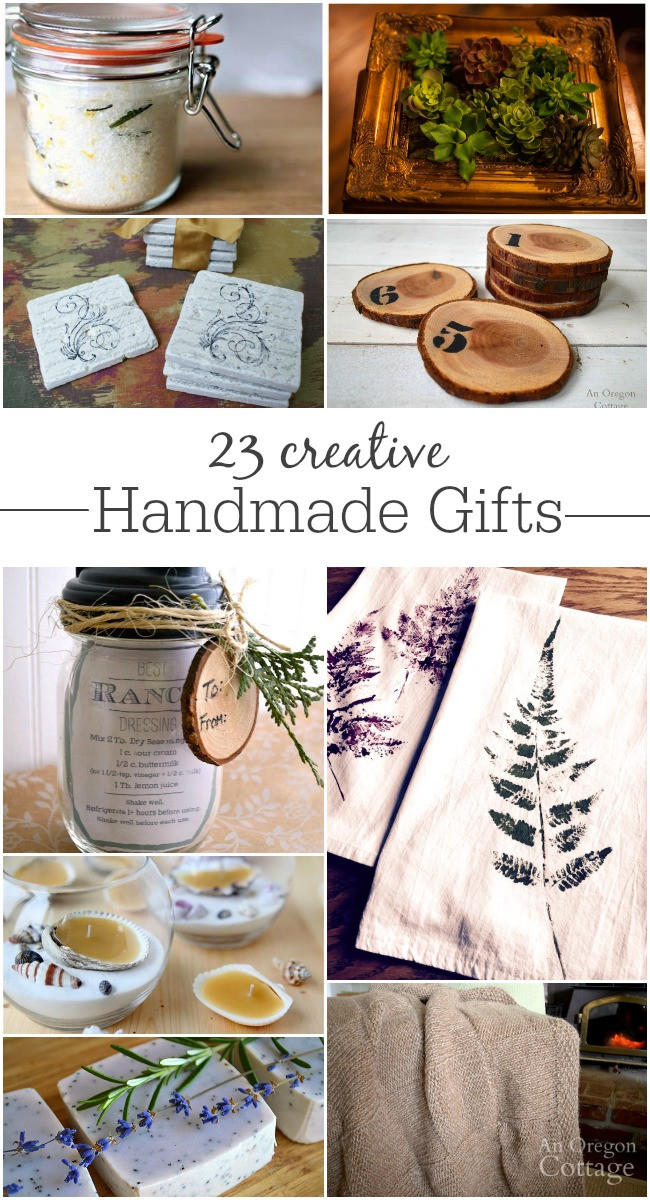 Unique DIY Gifts  23 Creative Handmade Gifts