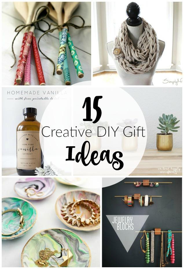 Unique DIY Gifts  15 Creative DIY Gift Ideas