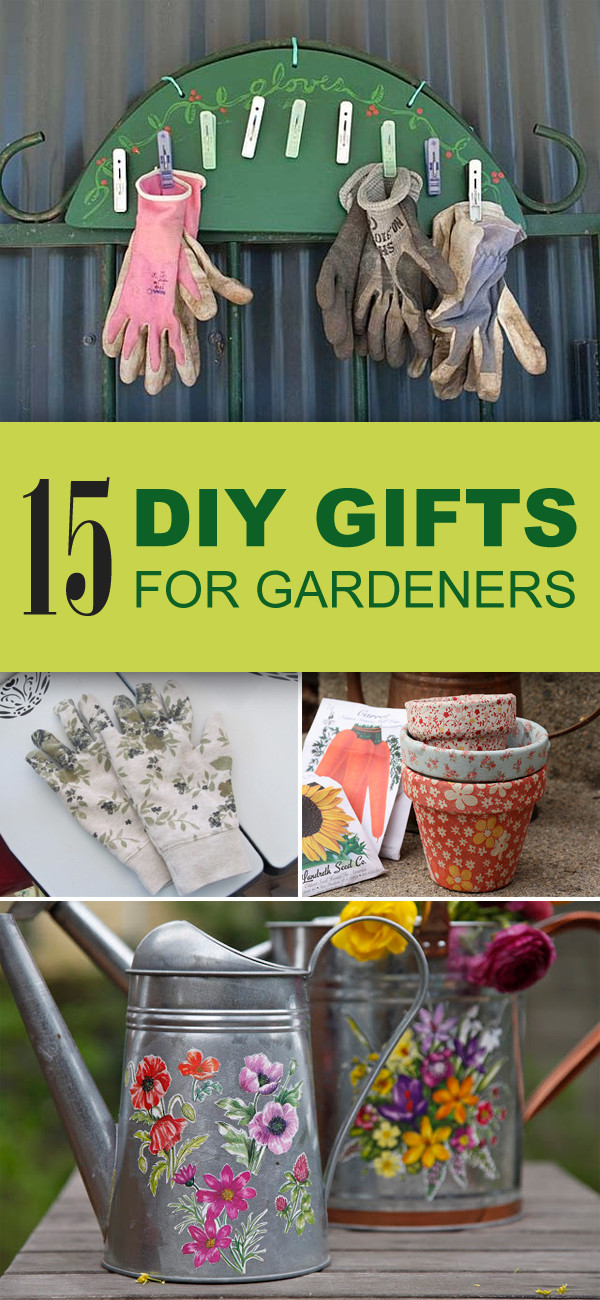 Unique DIY Gifts  15 Easy & Unique DIY Gifts for Gardeners