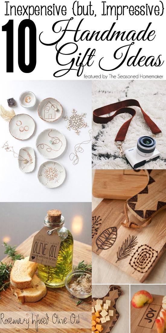 Unique DIY Gifts  The Seasoned HomemakerInexpensive but Impressive Handmade