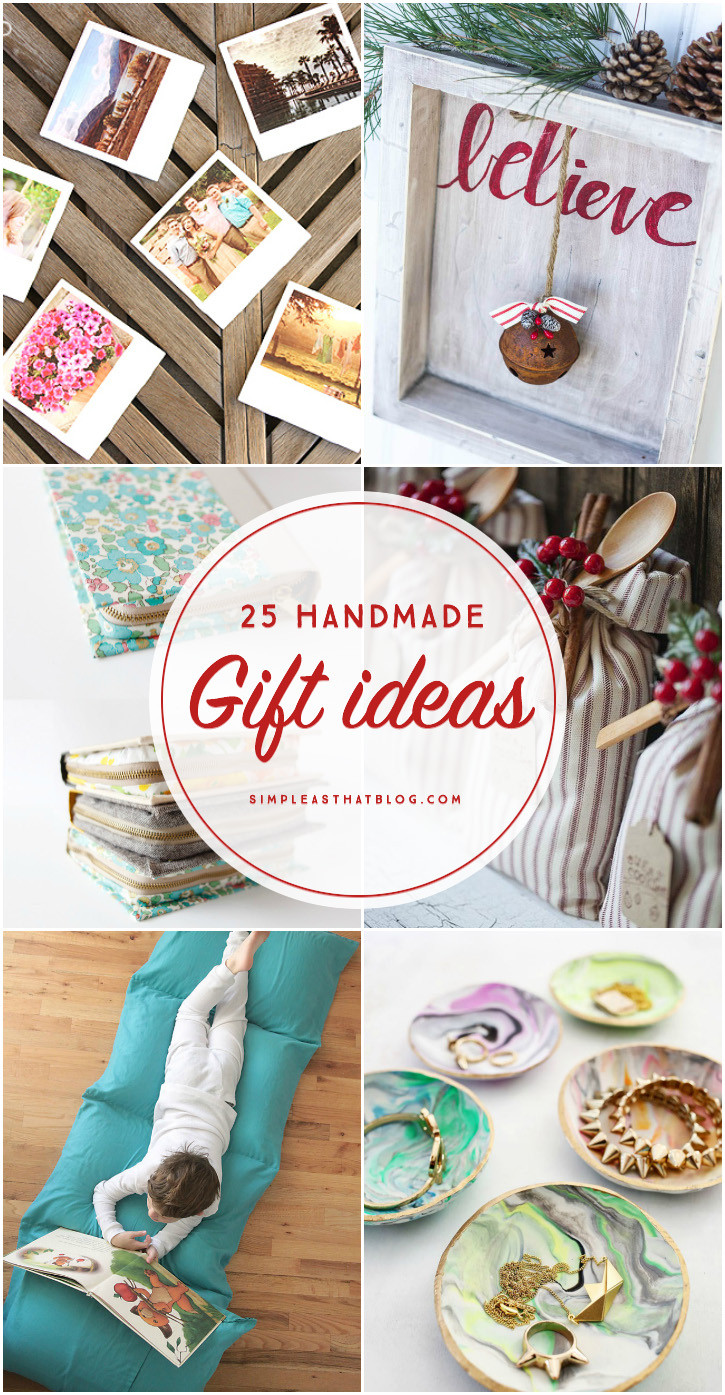 Unique DIY Gifts  25 Handmade Gift Ideas