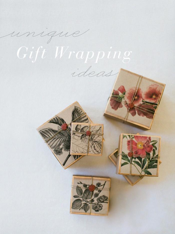 Unique DIY Gifts  DIY Gift Wrapping Tutorial DIY Weddings