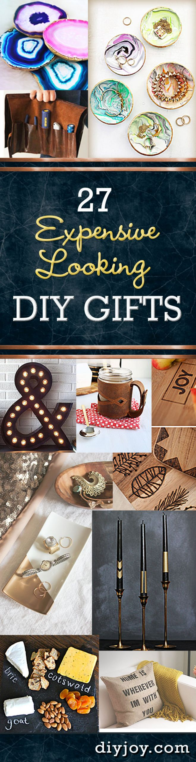 Unique DIY Gifts  27 Expensive Looking Inexpensive DIY Gifts