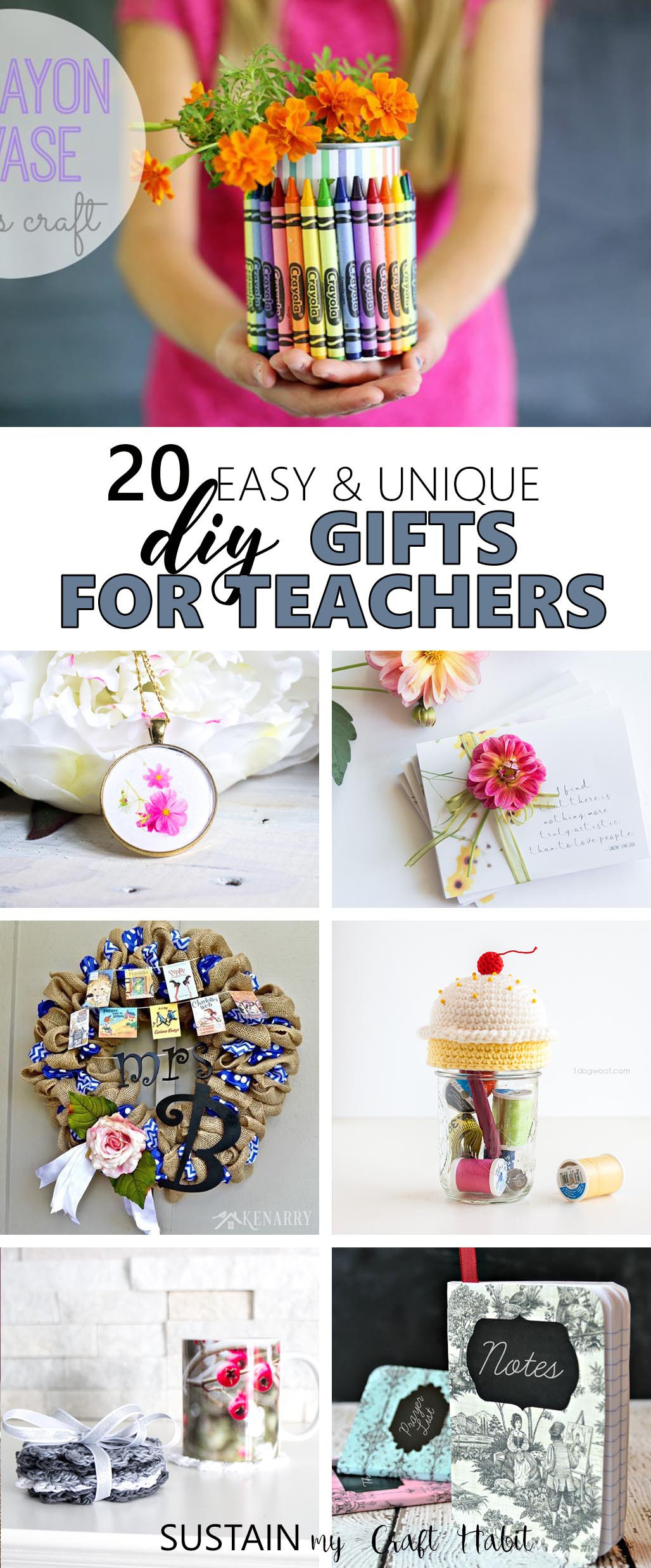 Unique DIY Gifts  Gifts for Teachers 20 Easy and Unique DIY Presents you