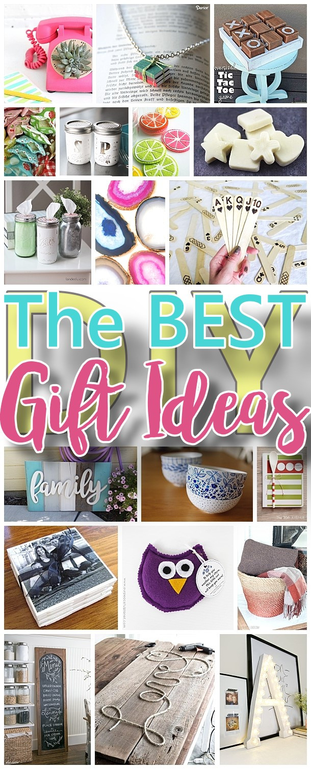 Unique DIY Gifts  The BEST Do it Yourself Gifts – Fun Clever and Unique DIY