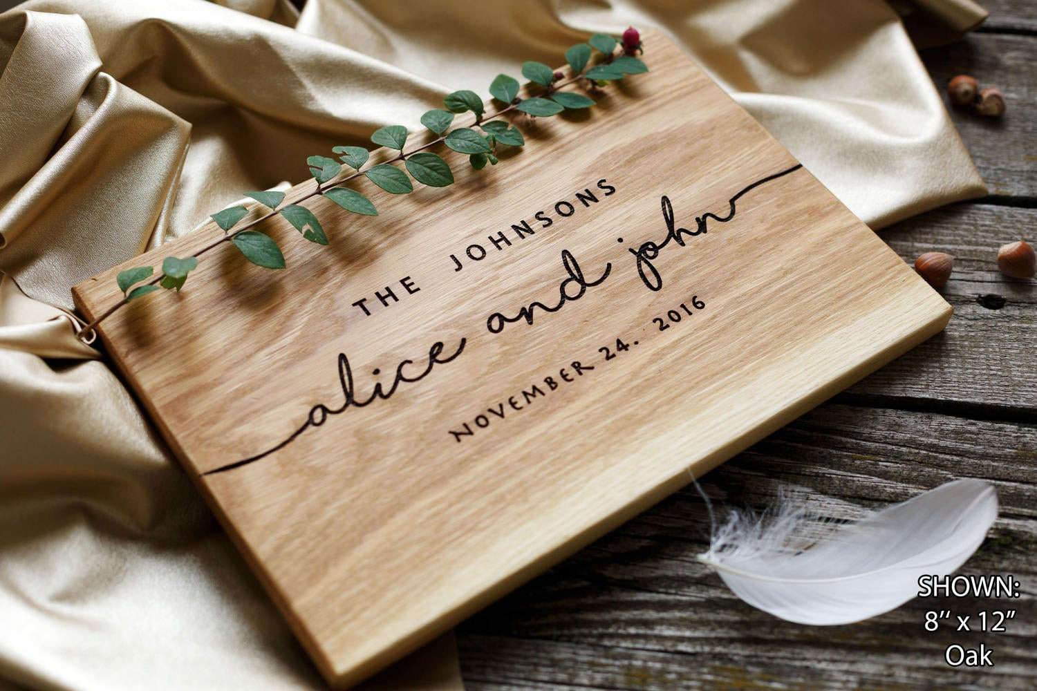 Unique Wedding Gift Ideas For Couple  Wedding Gift Personalized Cutting Board Gift for couple Unique
