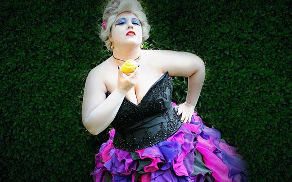 Ursula Costume DIY  DIY Ursula Costume