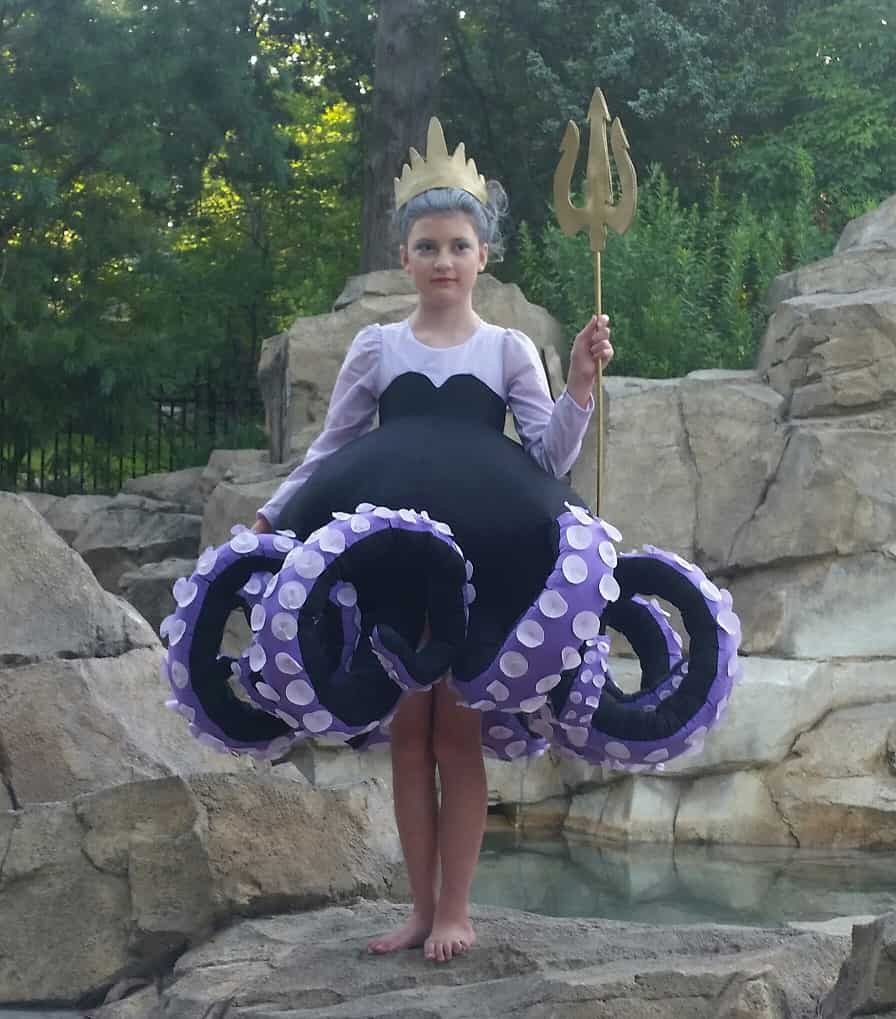 Ursula Costume DIY  How to Make the Most Awesome Ursula Costume · It s Sew Rachel