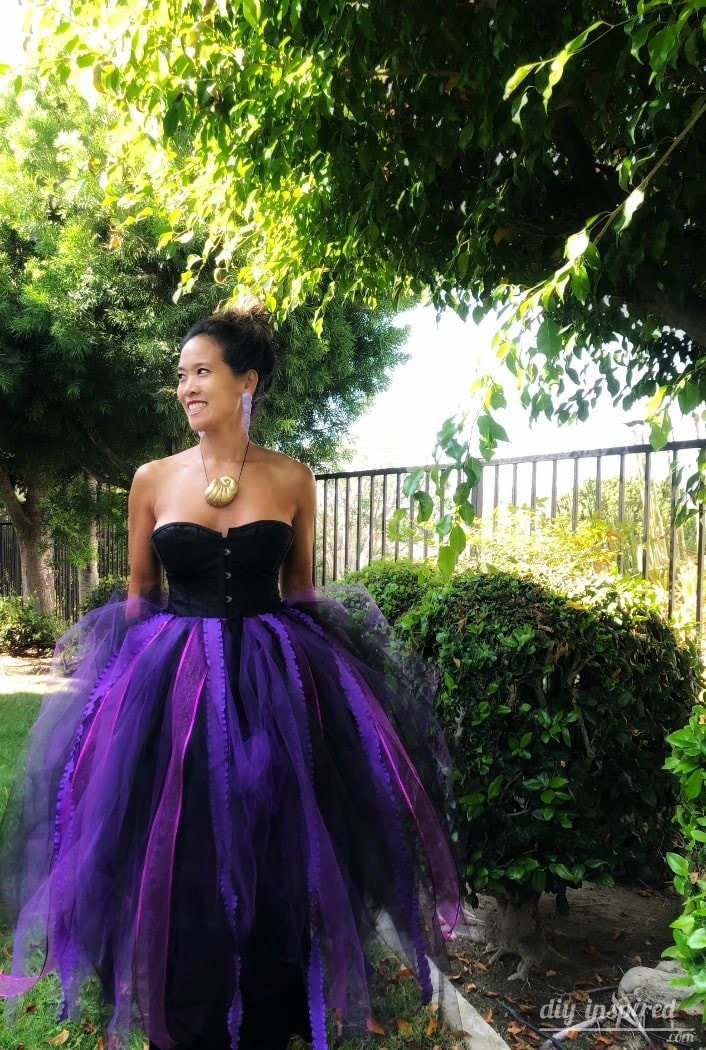 Ursula Costume DIY  DIY Ursula Halloween Costume DIY Inspired
