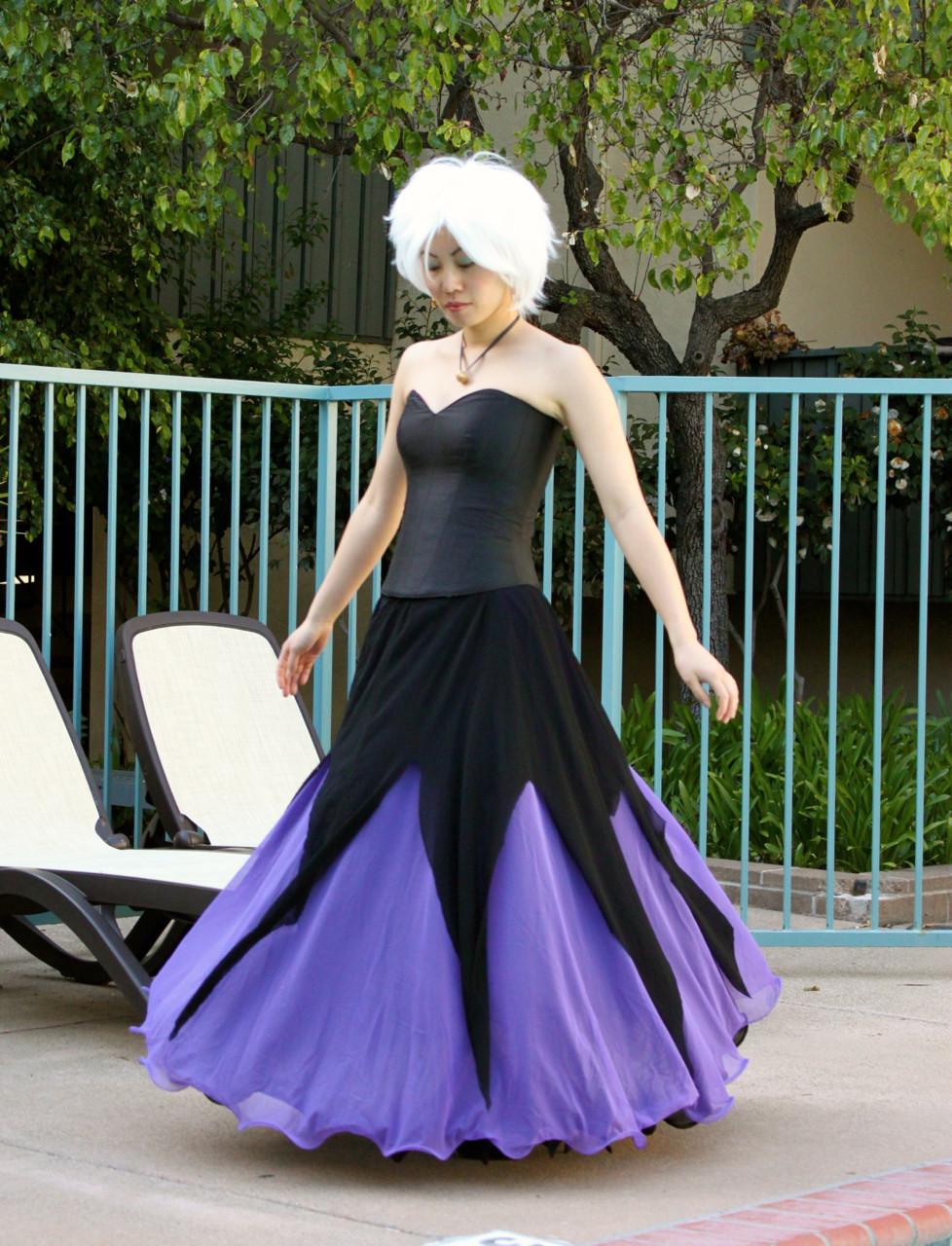 "Ursula Costume DIY  ""Spur of the Moment"" Ursula Costume"