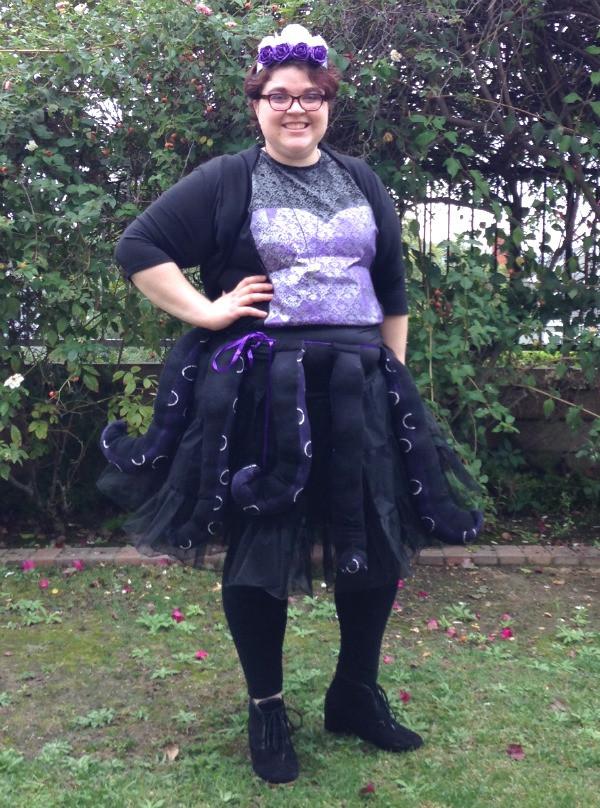 Ursula Costume DIY  Happy Halloween You Poor Unfortunate Souls Ursula DIY
