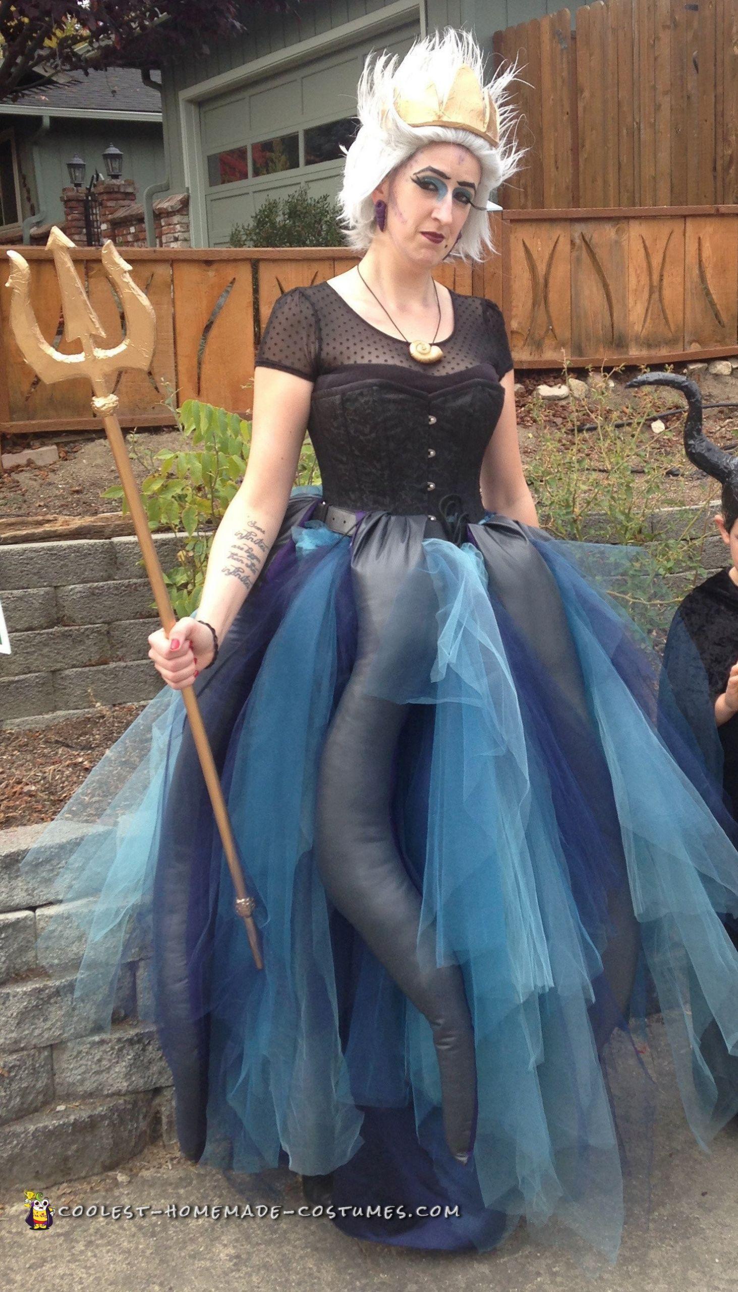 Ursula Costume DIY  Ursula The Sea Witch Costume