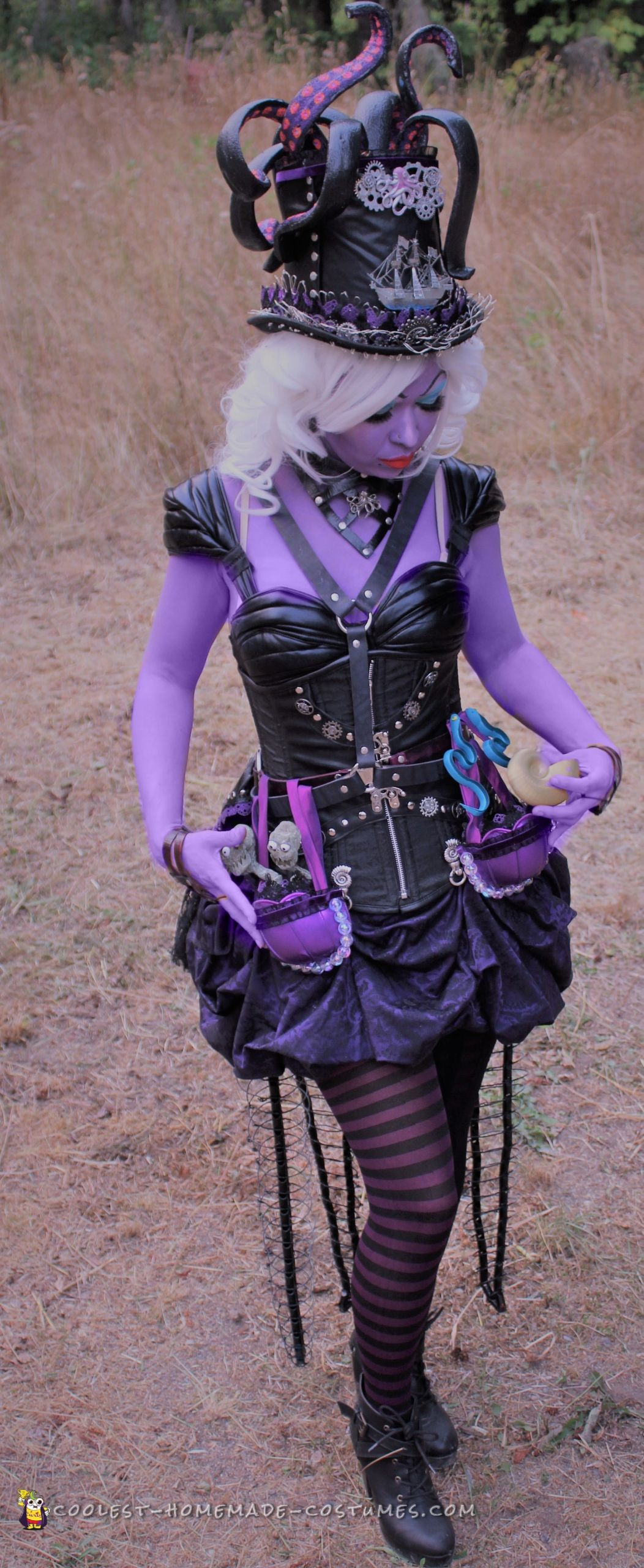 Ursula Costume DIY  Awesome DIY Steampunk Ursula Costume is Making Waves