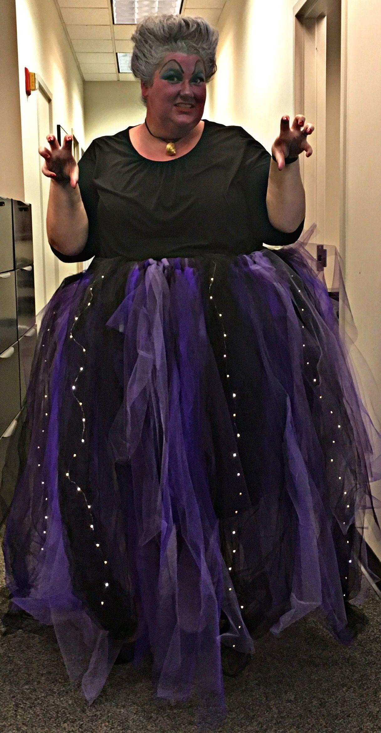 Ursula Costume DIY  Pin on Poor unfortunate souls