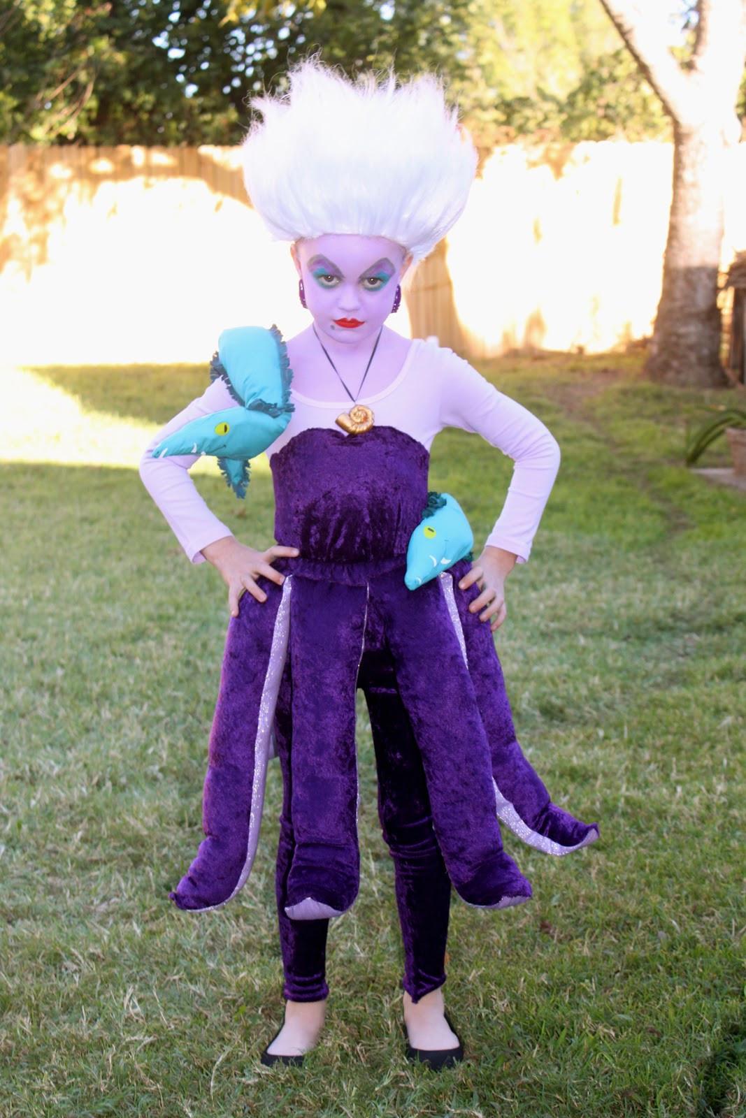 Ursula Costume DIY  sweet savannah Ursula The Sea Witch & Wayne Campbell