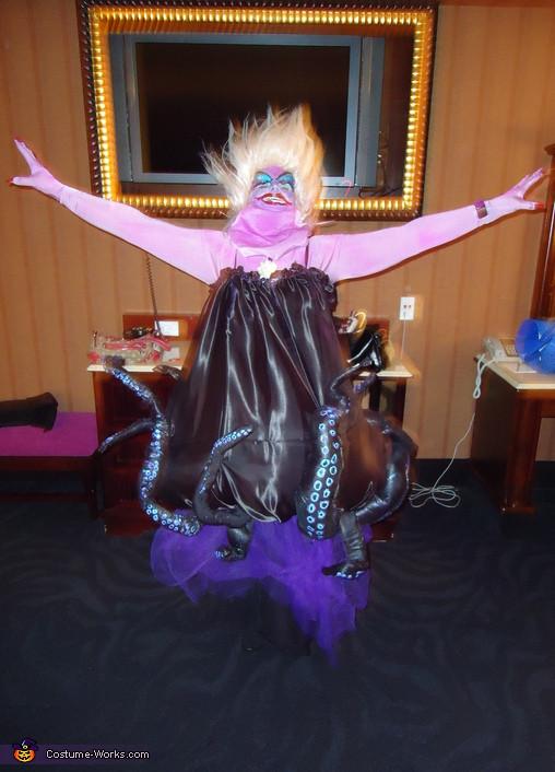 Ursula Costume DIY  Women s Homemade Ursula Costume