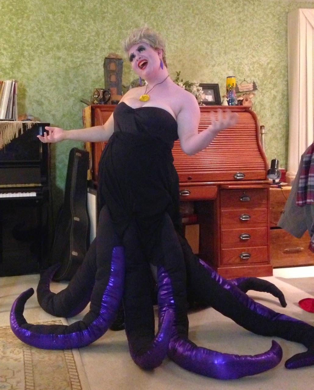Ursula Costume DIY  Tesslyn s URSULA COSTUME Octopus