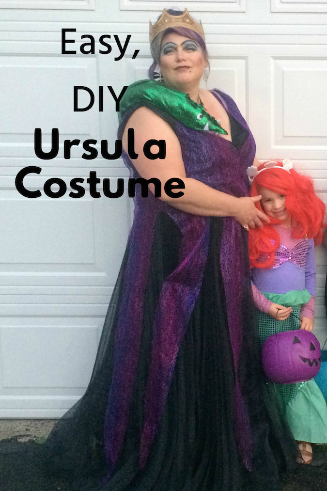 Ursula Costume DIY  What I m Into October 2015 Ad Zierman