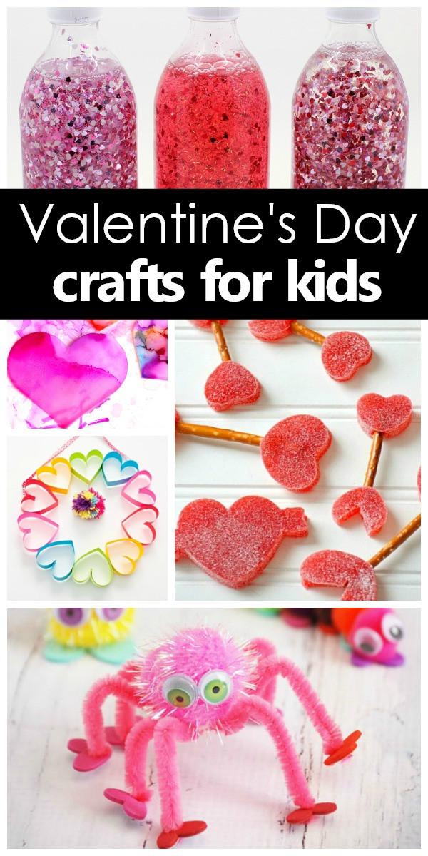 Valentine Children Crafts  Valentine s Day Crafts for Kids Fantastic Fun & Learning