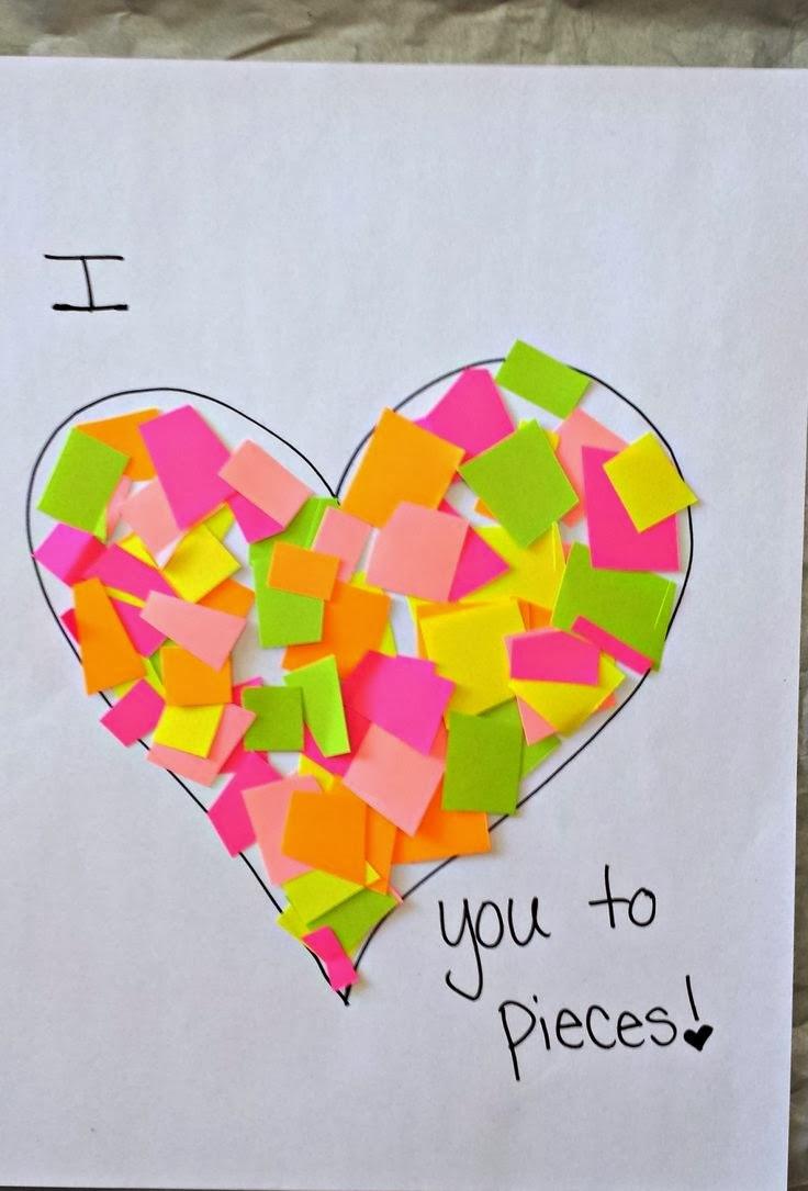 Valentine Children Crafts  50 Creative Valentine Day Crafts for Kids