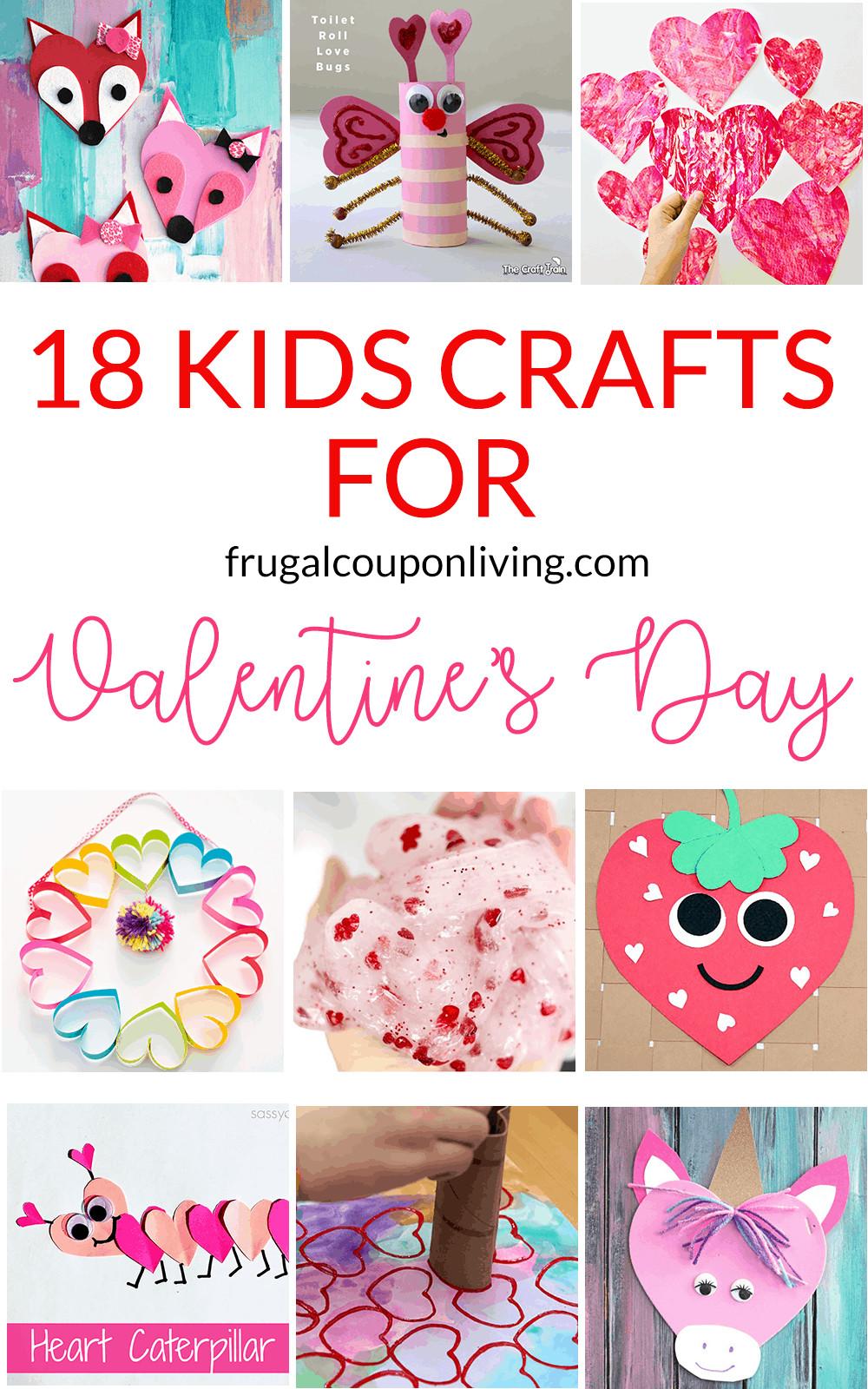 Valentine Children Crafts  18 Super Cute DIY Valentines Crafts for Kids