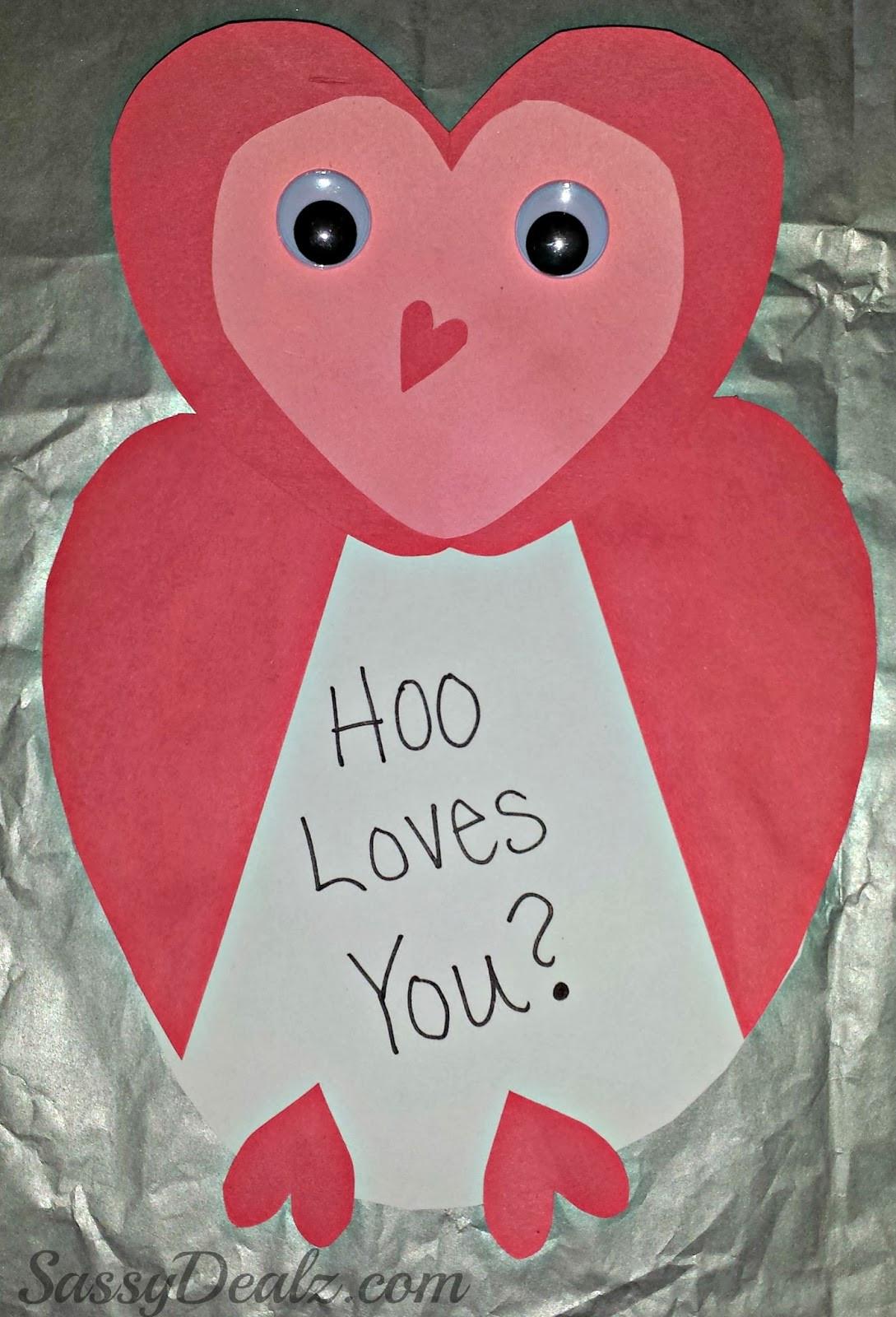 Valentine Children Crafts  3 Easy Valentine Crafts For Kids