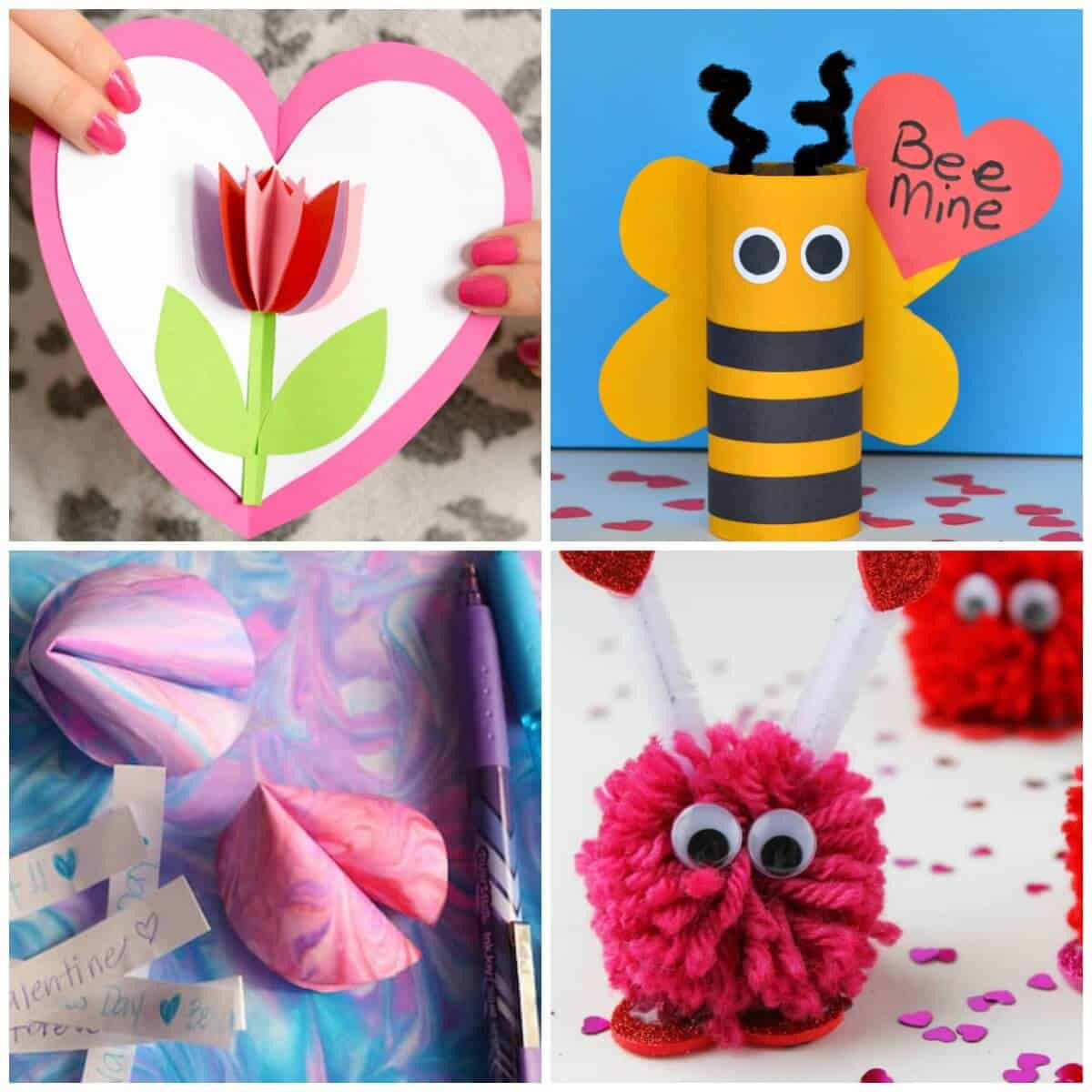 Valentine Children Crafts  Valentine s Day Crafts For Kids Super Cute and Easy