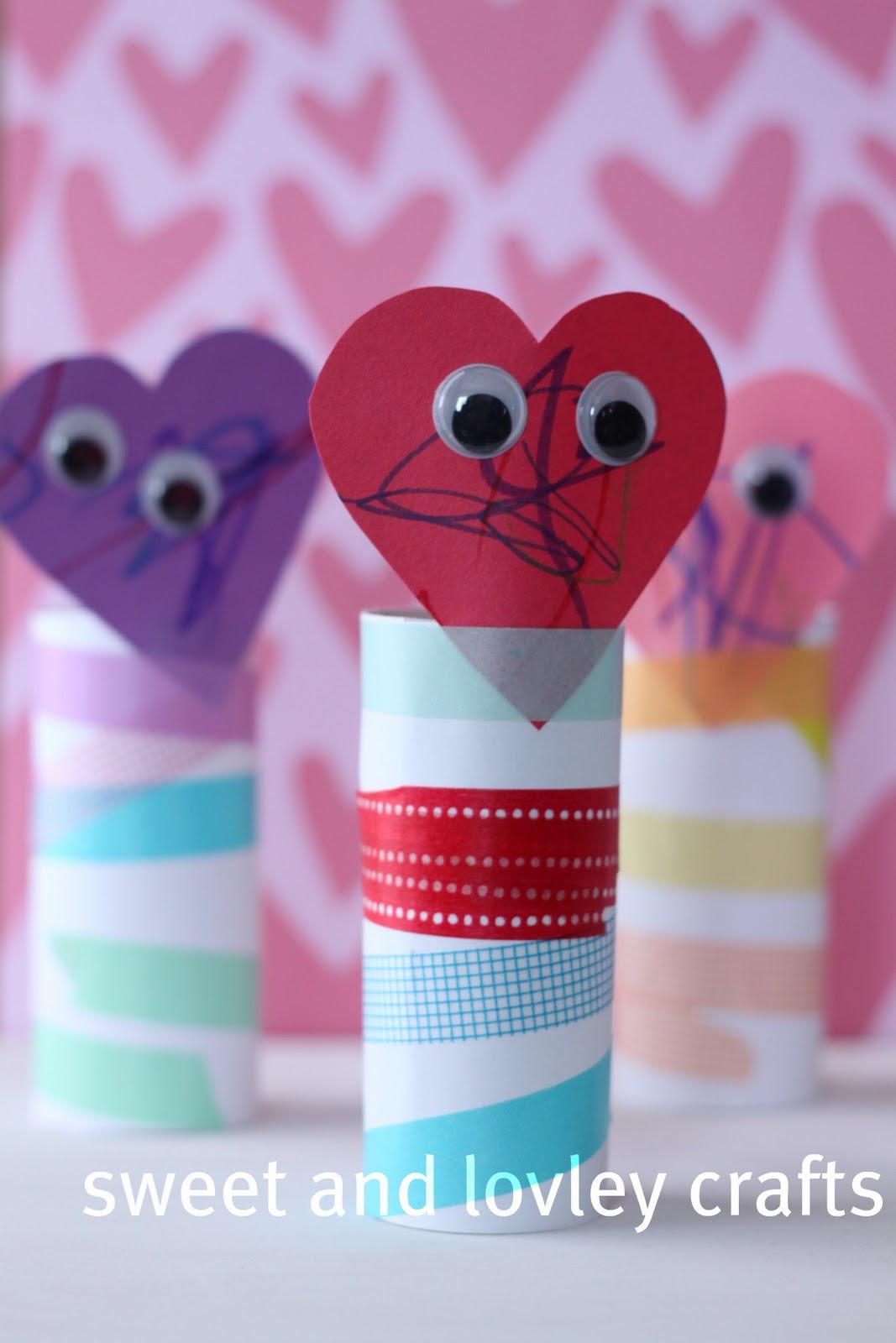 Valentine Children Crafts  sweet and lovely crafts Kids Valentine craft
