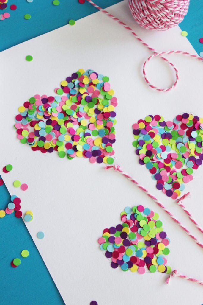 Valentine Children Crafts  17 Valentine s Day Crafts for Kids Lolly Jane