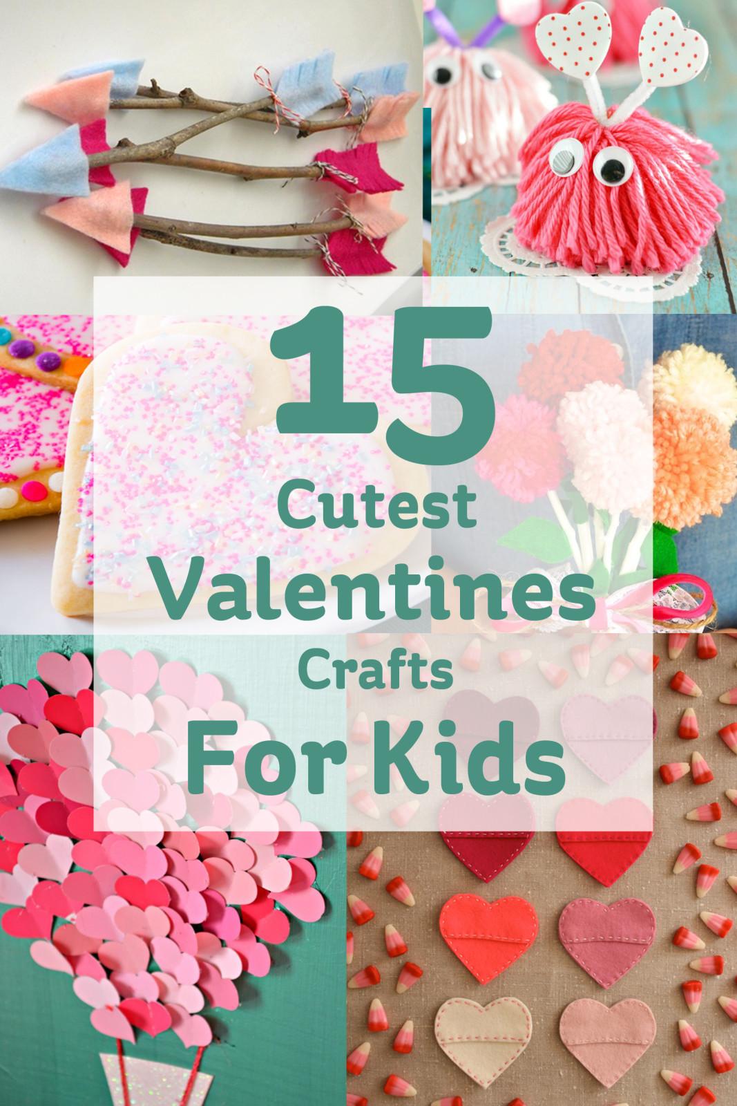 Valentine Children Crafts  15 Cute Valentines Crafts for Kids