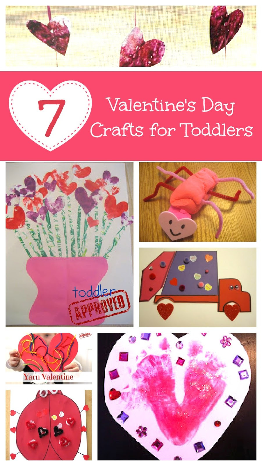 Valentine Day Craft Ideas For Preschoolers  Toddler Approved 7 Valentine s Day Crafts for Toddlers