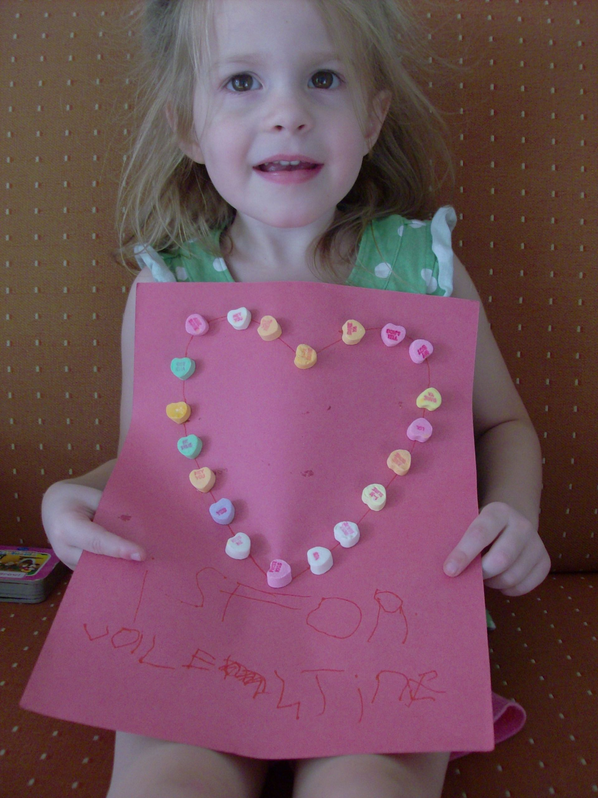 Valentine Day Craft Ideas For Preschoolers  V is for Valentine Preschool Activity and Valentine s Day