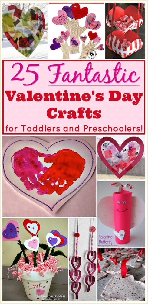 Valentine Day Craft Ideas For Preschoolers  Valentine Crafts for Preschoolers 25 Easy Projects for