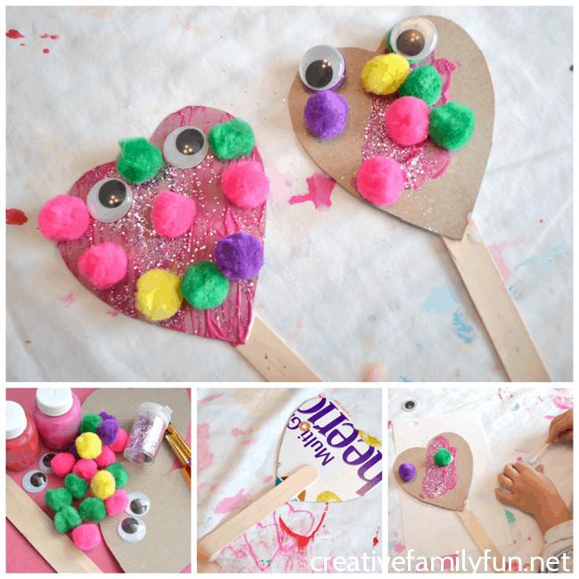 Valentine Day Craft Ideas For Preschoolers  7 Super Cute and Easy Valentine s Day Crafts for Preschoolers