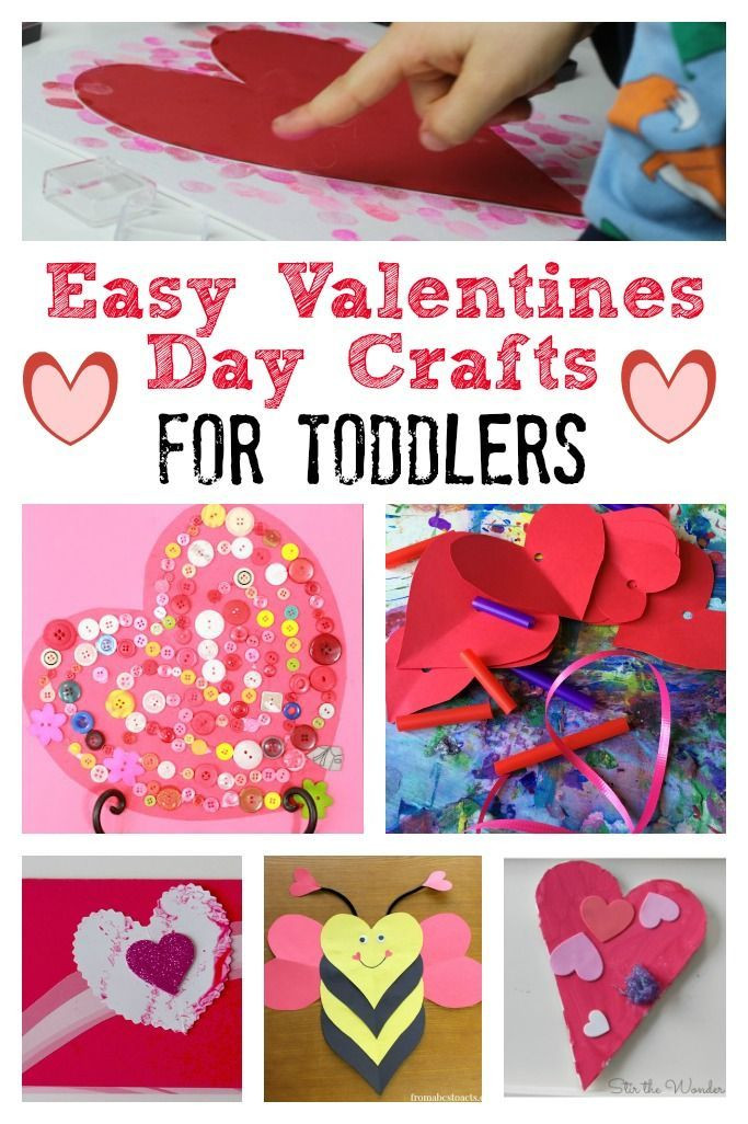 Valentine Day Craft Ideas For Preschoolers  Valentines Day Crafts for Toddlers