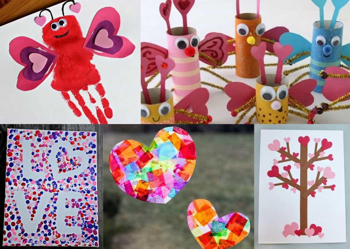 Valentine Day Craft Ideas For Preschoolers  24 Adorable Valentine s Day Craft Ideas for Preschoolers
