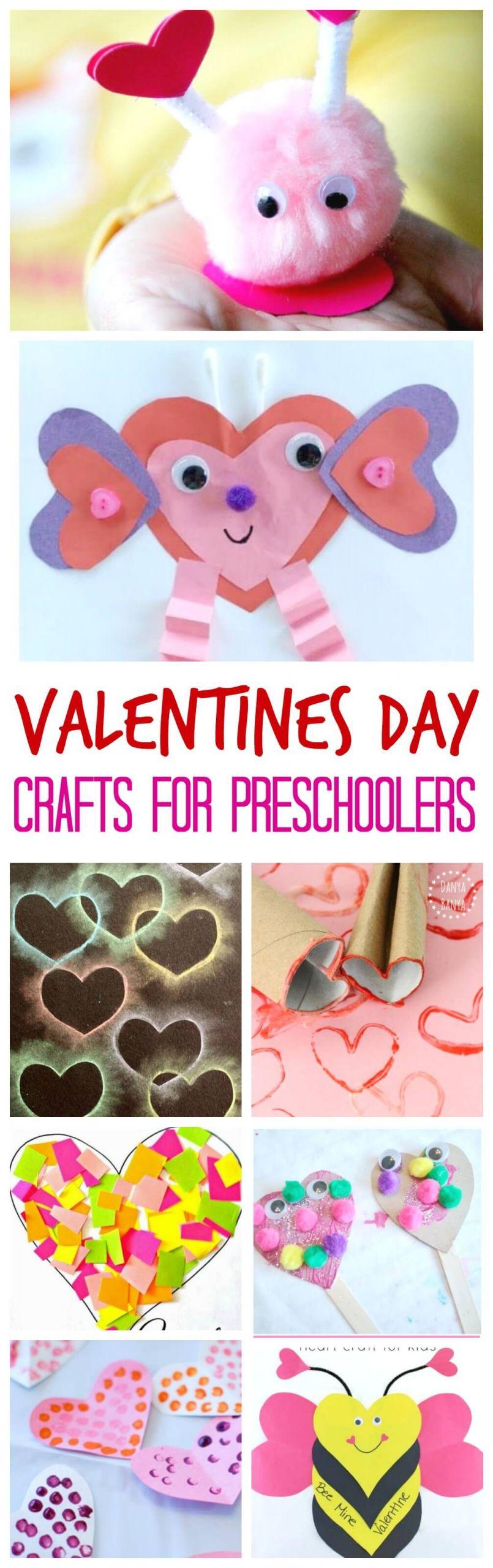 Valentine Day Craft Ideas For Preschoolers  Valentine s Day Crafts for Preschoolers