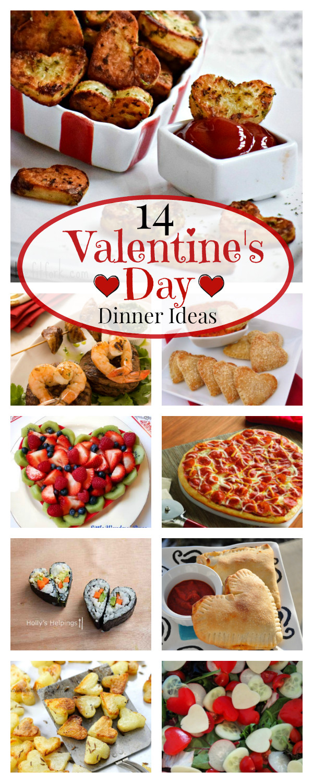 Valentine Dinners For Kids  14 Valentine s Day Dinner Ideas – Fun Squared